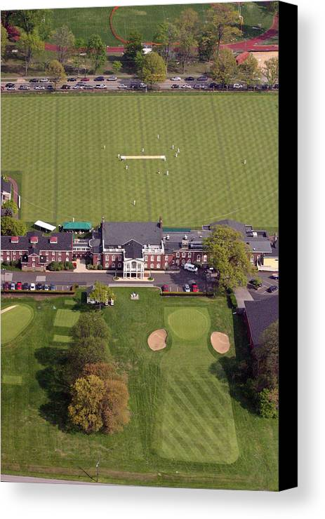 Pcc Canvas Print featuring the photograph Philadelphia Cricket Club St Martins by Duncan Pearson