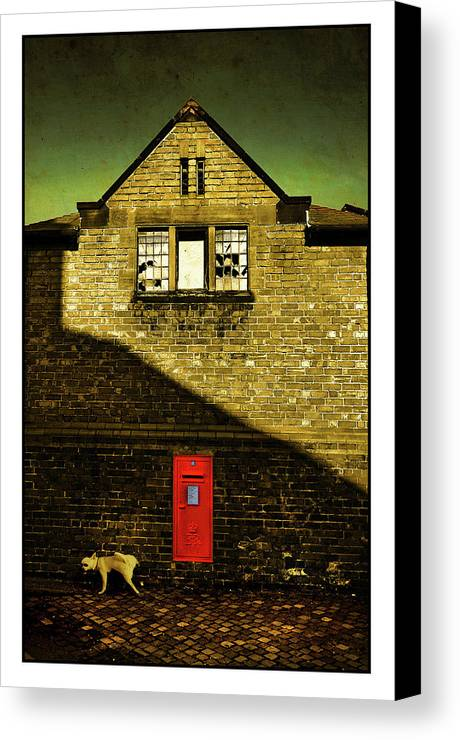 Mail Canvas Print featuring the photograph Postal Service by Mal Bray