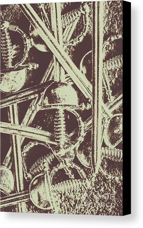 Protecting The Iron Gate Canvas Print / Canvas Art by Jorgo ...