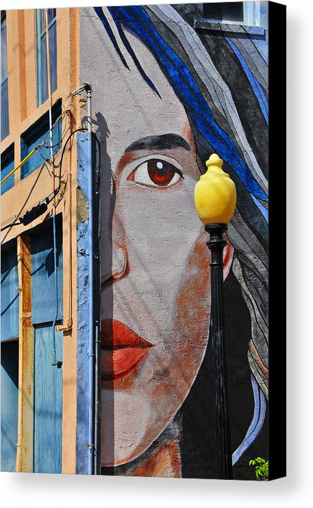 Skip Hunt Canvas Print featuring the photograph Redeye by Skip Hunt