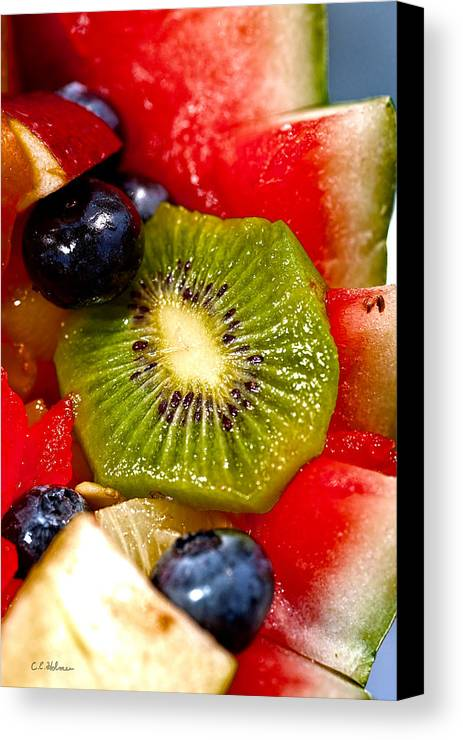 Fruit Canvas Print featuring the photograph Refreshing by Christopher Holmes