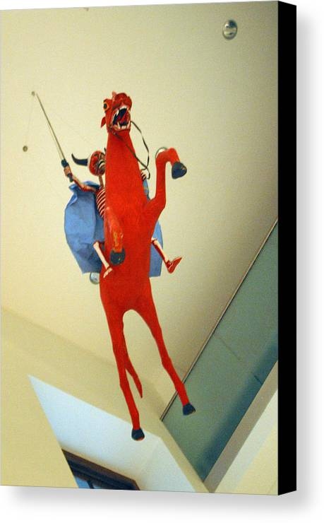 Jez C Self Canvas Print featuring the photograph Riding On High by Jez C Self