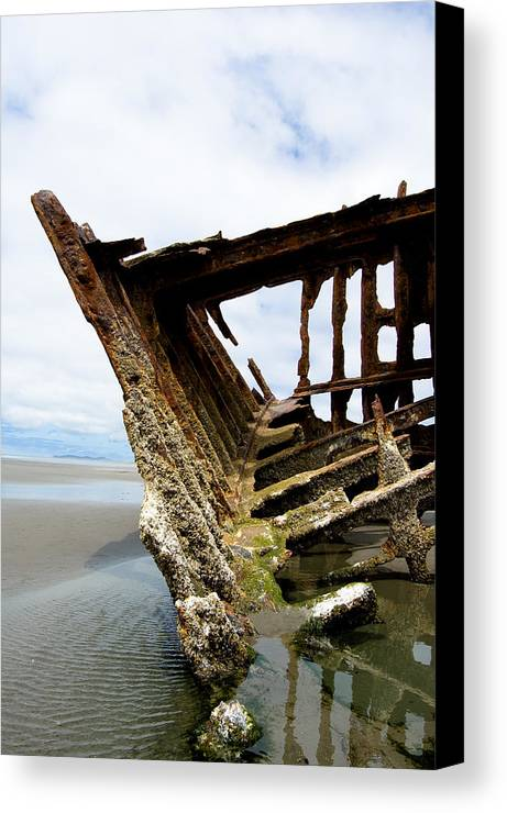 Shipwreck Canvas Print featuring the photograph Ripple Effect by Jennifer Owen