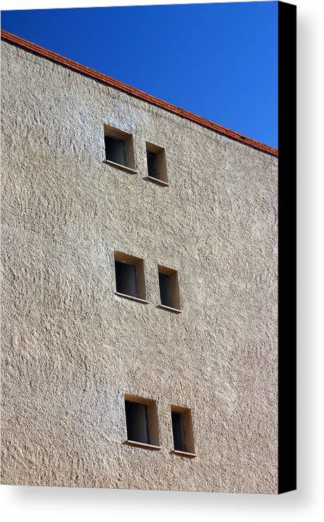Photographer Canvas Print featuring the photograph Roquettas 23 by Jez C Self