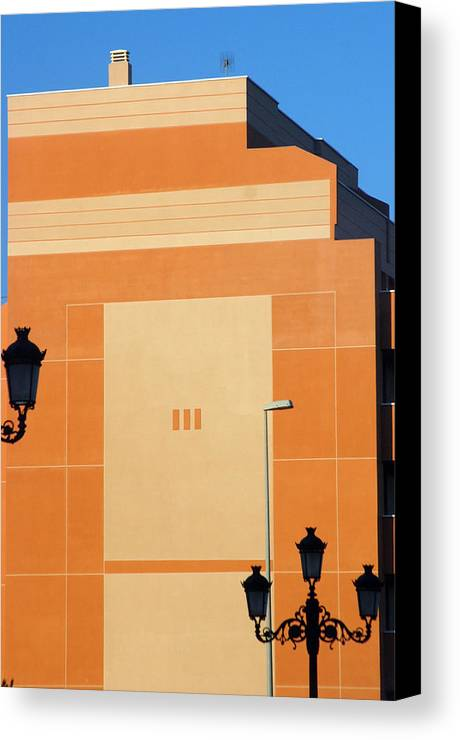 Photographer Canvas Print featuring the photograph Roquettas 75 by Jez C Self