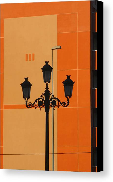 Photographer Canvas Print featuring the photograph Roquettas 76 by Jez C Self