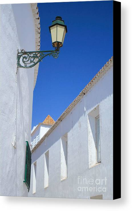 Algarve Canvas Print featuring the photograph Rua Do Castelo by Carl Whitfield