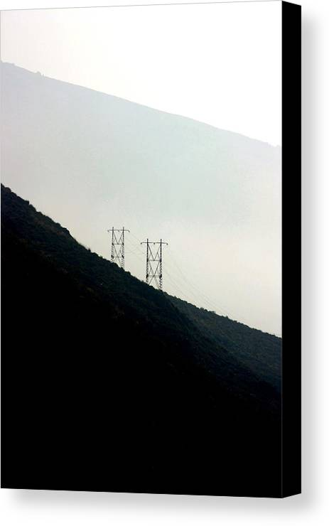Photographer Canvas Print featuring the photograph Ruined by Jez C Self