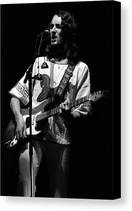 Classic Rock Canvas Print featuring the photograph S#33 by Ben Upham