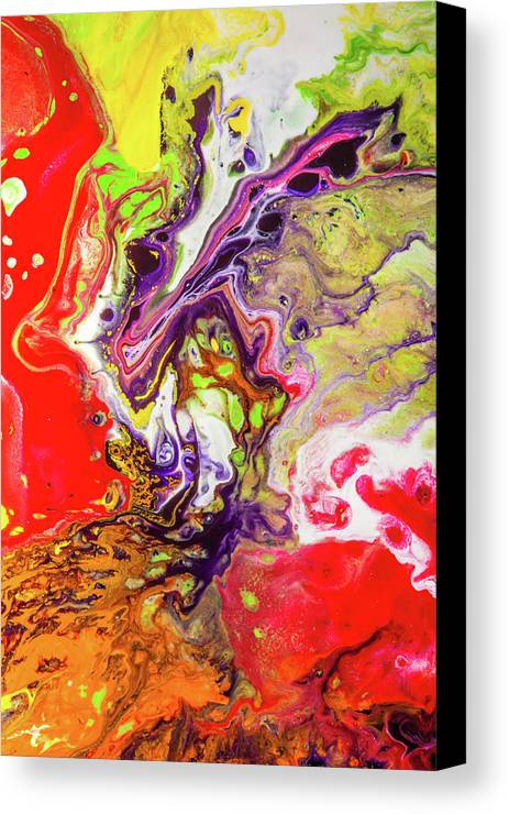 sancho panza acrylic colorful abstract painting canvas print