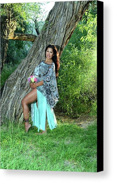 Canvas Print featuring the photograph Seriously Sweet by Vivian Sampson