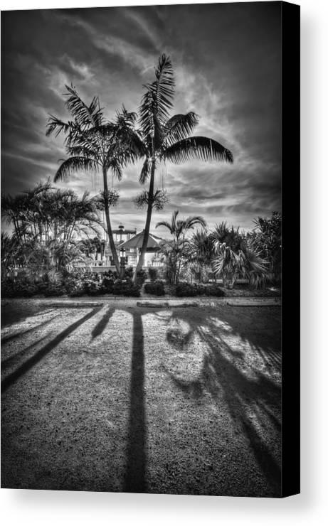 Boca Grande Canvas Print featuring the photograph Shadow Waltz by Evelina Kremsdorf