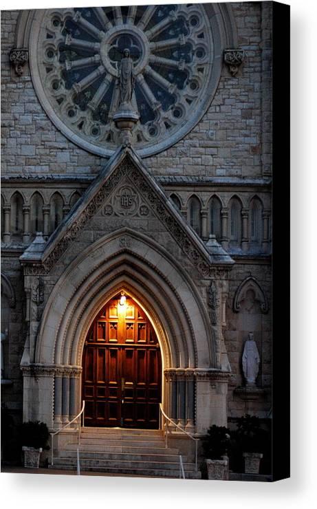 Church Canvas Print featuring the photograph St Annes Church by Teresa Blanton