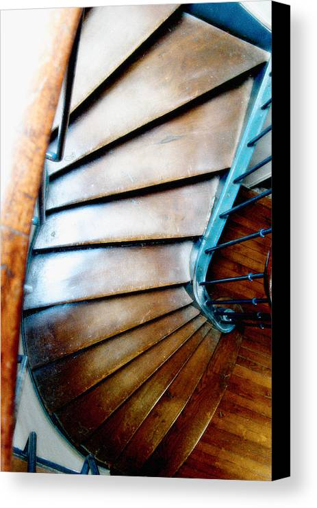 Stairs Canvas Print featuring the photograph Stairs Paris by Keith Campagna