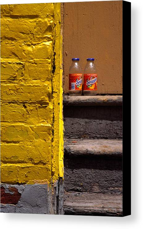 Montreal Canvas Print featuring the photograph Still Life With Snapple by Art Ferrier