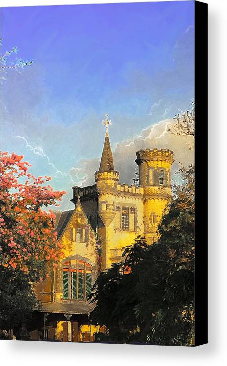 Castles Canvas Print featuring the photograph Stollmeyer by Francis  Chu Foon