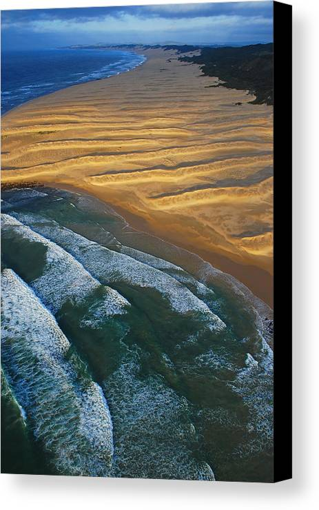 Coast Canvas Print featuring the photograph Sun Rise Coast by Skip Hunt