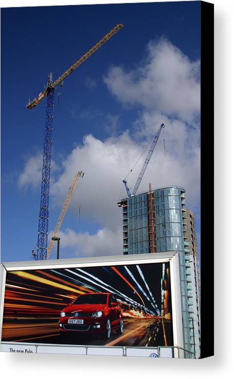 Jez C Self Canvas Print featuring the photograph Super Highway by Jez C Self