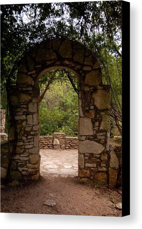 Landscape Canvas Print featuring the photograph The Arch by Siobhan Yost