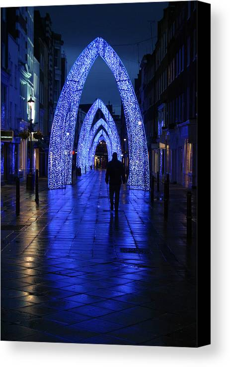 Jez C Self Canvas Print featuring the photograph The Last Walk by Jez C Self