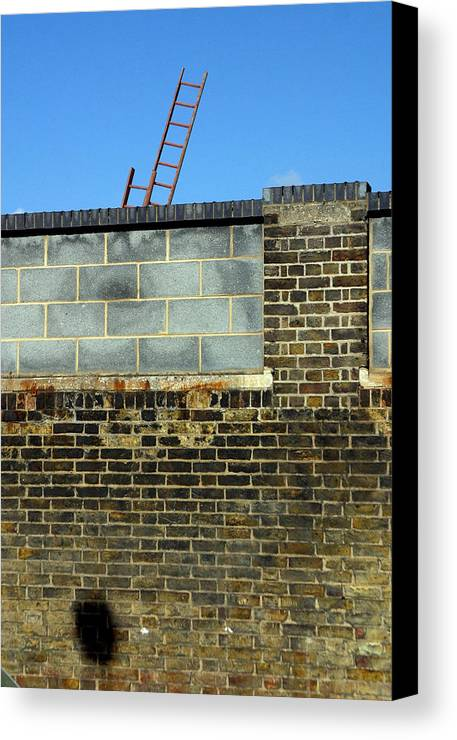 Jez C Self Canvas Print featuring the photograph The Wromg Side by Jez C Self