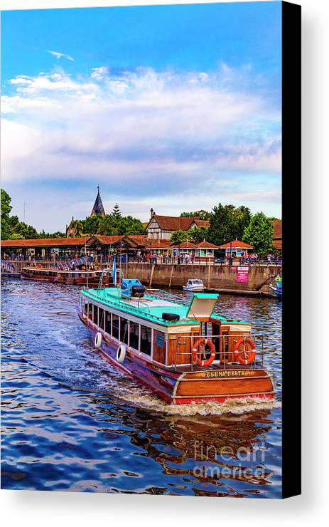 Canvas Print featuring the photograph Tigre Delta 015 by Bernardo Galmarini