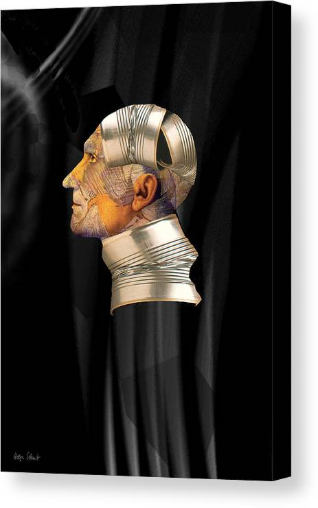 Fantasy Canvas Print featuring the digital art Tinman by Helga Schmitt