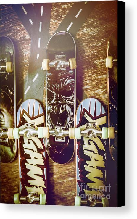 Toy Skateboards Canvas Print / Canvas Art by Jorgo Photography ...