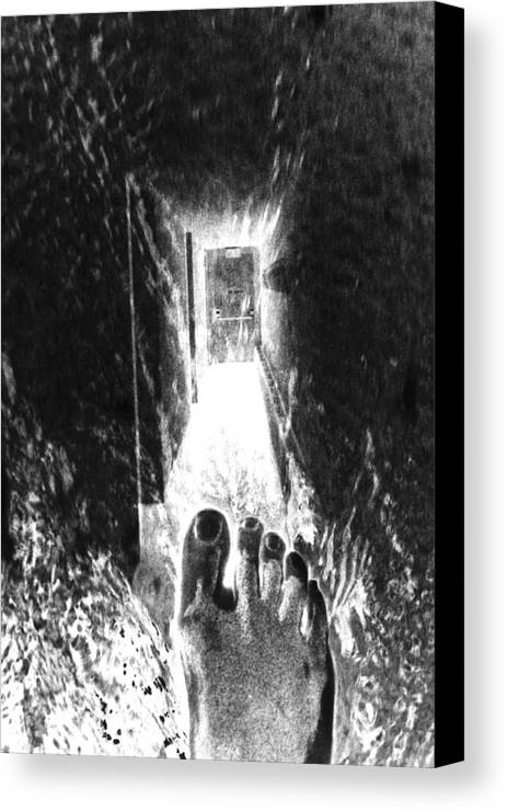 Canvas Print featuring the photograph Transformation Exit by Vicki Tomatis