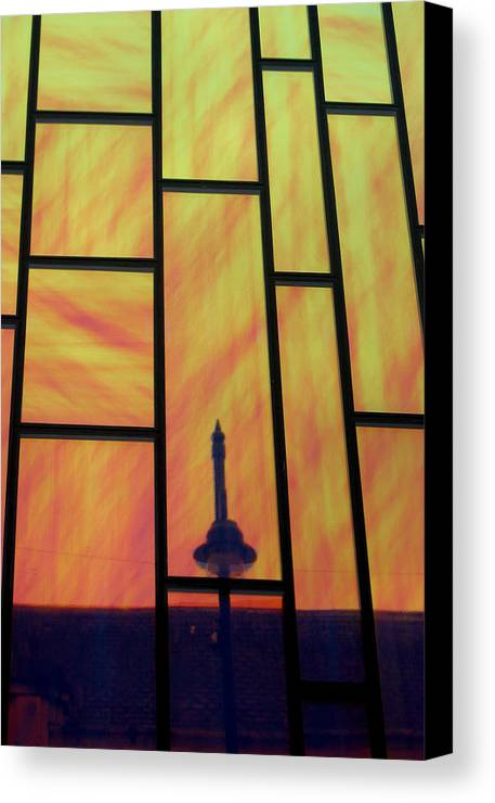 Jez C Self Canvas Print featuring the photograph Upwards And Whatever by Jez C Self