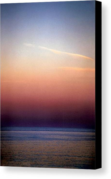 Landscape Canvas Print featuring the photograph Vertical Number 1 by Sandra Gottlieb