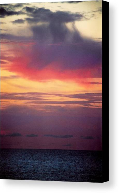 Landscape Canvas Print featuring the photograph Vertical Number 2 by Sandra Gottlieb