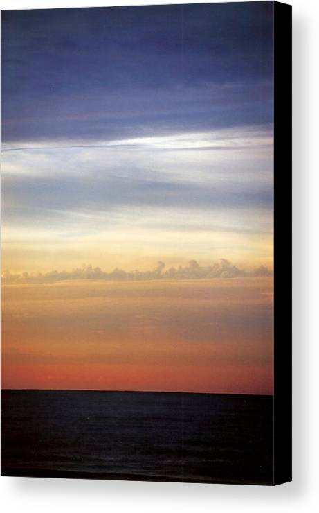 Landscape Canvas Print featuring the photograph Vertical Number 9 by Sandra Gottlieb
