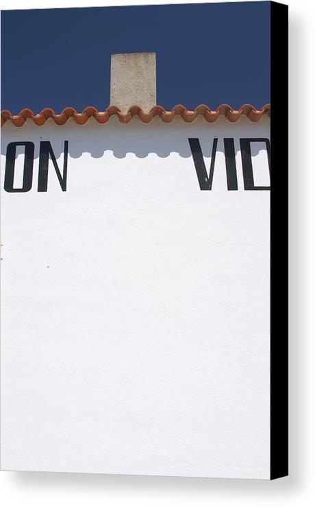 Photographer Canvas Print featuring the photograph Vidanas 2 by Jez C Self