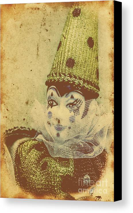Vintage Circus Postcard Canvas Print / Canvas Art by Jorgo ...