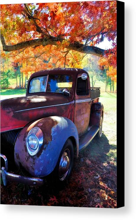 Vehicles Canvas Print featuring the photograph Virginia Beauty by Jan Amiss Photography