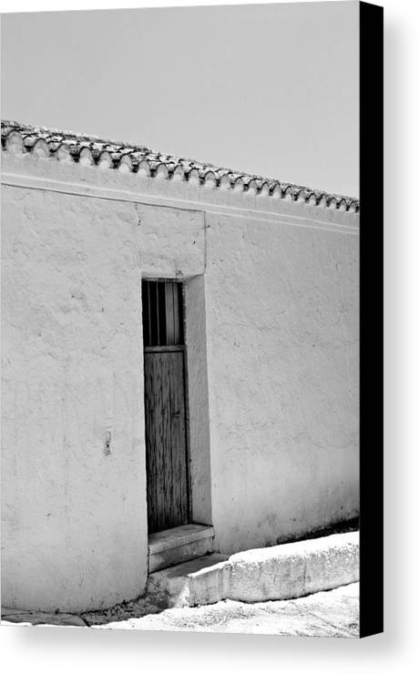Photographer Canvas Print featuring the photograph Way Out by Jez C Self