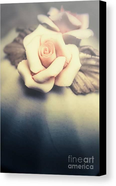 White Porcelain Rose Canvas Print / Canvas Art by Jorgo Photography ...