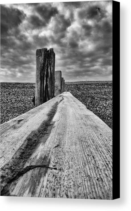 Winchelsea Beach Canvas Print featuring the photograph Winshelsea Beach Sussex by Chris Pickett