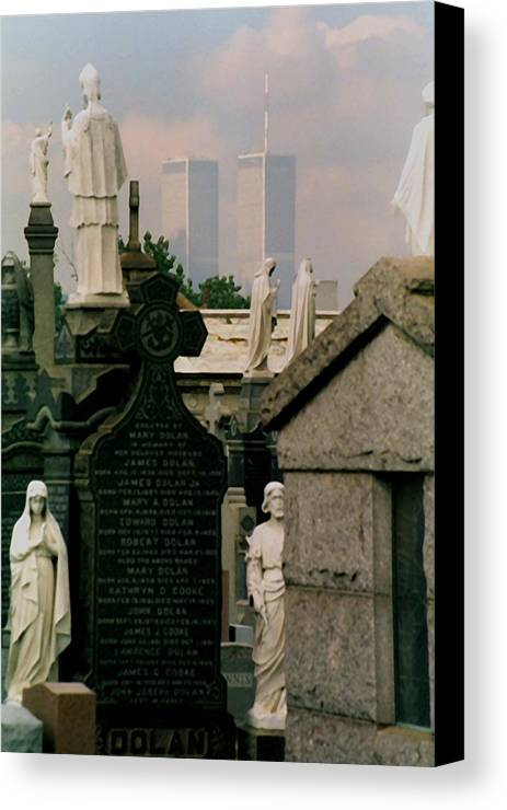New York Canvas Print featuring the photograph World Trade Center by Juergen Roth