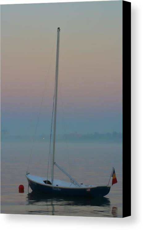 Sailboat Canvas Print featuring the photograph Yes Tomorrow by Odd Jeppesen