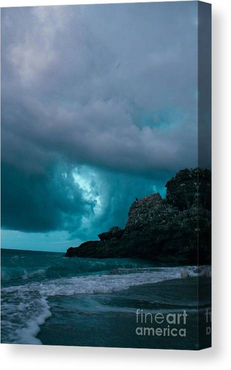 Sea Canvas Print featuring the photograph Drimades by Eduina Jaupi