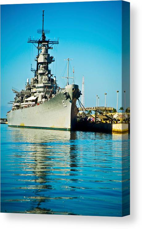 Uss Missouri, Pearl Harbor, Honolulu Canvas Print