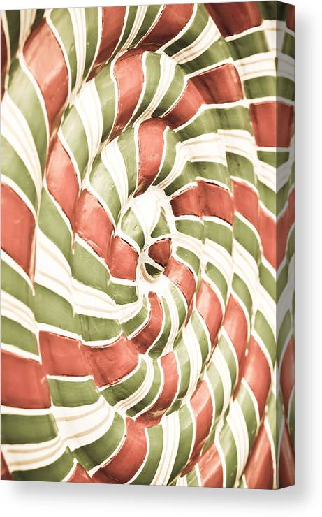 Abstract Canvas Print featuring the photograph Abstract Pattern by Tom Gowanlock