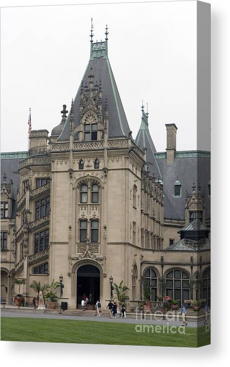 Biltmore Estate Canvas Print featuring the photograph Biltmore Estate Asheville North Carolina by Jason O Watson