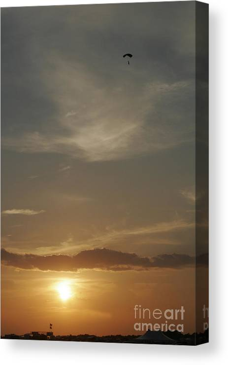 Balloons Canvas Print featuring the photograph Flying Solo by Paul Anderson