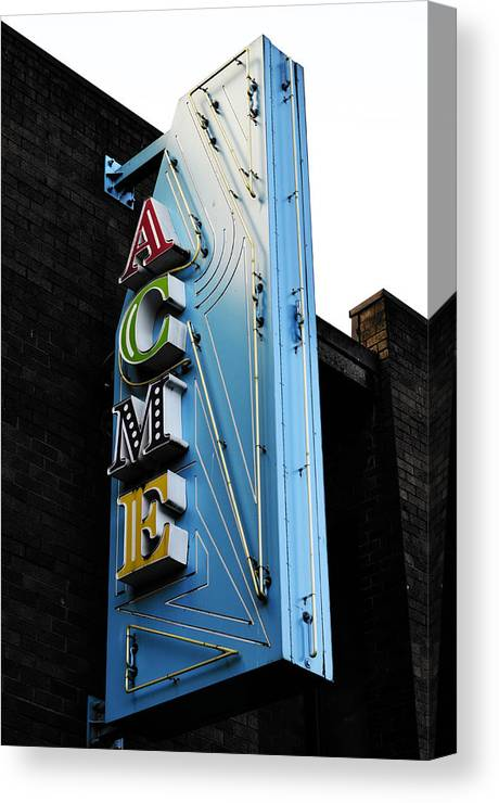 Vancouver Canvas Print featuring the photograph Acme by The Artist Project