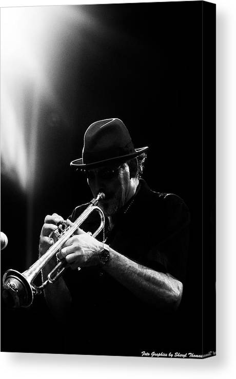 Jazz Canvas Print featuring the photograph All That Jazz by Sheryl Thomas
