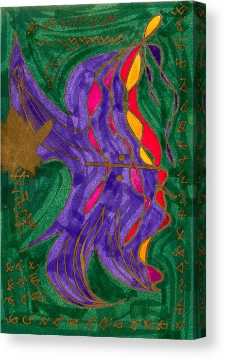 Healing Imprint Canvas Print featuring the mixed media Body Zero # 1 by Clarity Artists