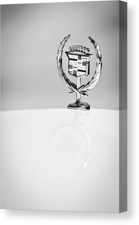 Cadillac Hood Ornament Canvas Print featuring the photograph Cadillac Hood Ornament by Jill Reger